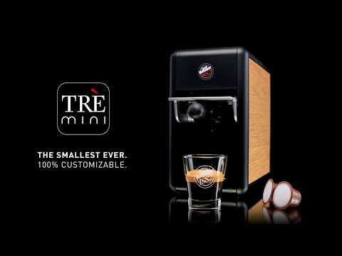 The new Trè Mini | Capsule coffee machine | Caffè Vergnano