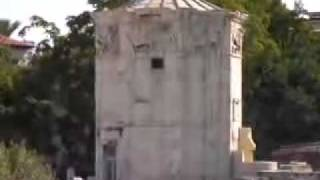 Греция. Афины. Башня ветров.(http://www.town-explorer.ru/athens/ - достопримечательности Афин на карте, фото и видео., 2011-09-27T18:27:20.000Z)