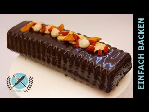 Schokoladen Kuchen I Schokoladen Cake Mit Trockenfruchten I Einfach