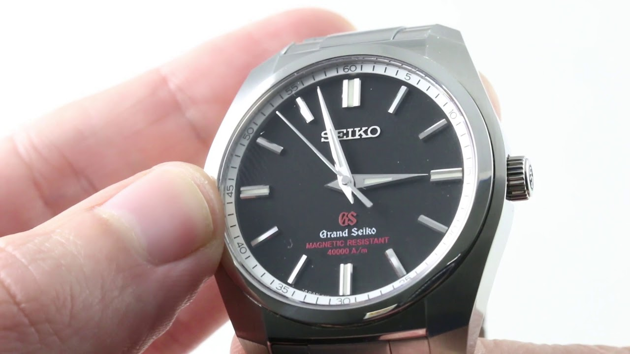 official photos 178bc 20824 Grand Seiko 9F61 (ANTI-MAGNETIC) SBGX093 Luxury Watch Review