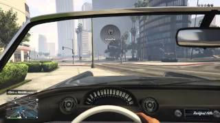 Grand Theft Auto V game play #1