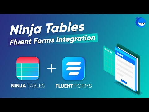 How To Create a WordPress Table With Online Form Entries