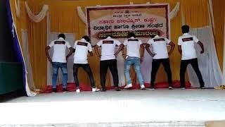 G p t kustagi diplom clg .Group dance (send up party 2)