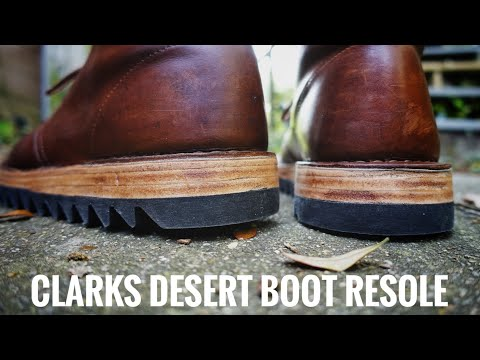 Clark's Desert Boot Resole