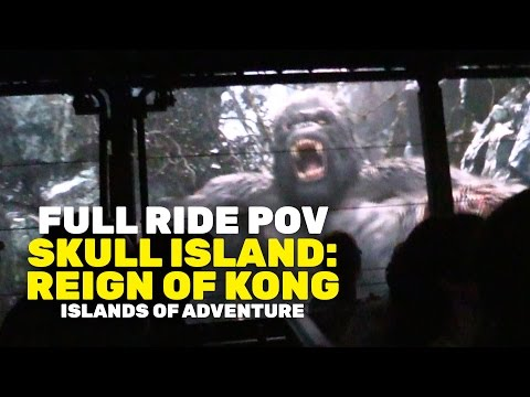 "FULL RIDE POV: ""Skull Island: Reign of Kong"" at  Universal Orlando Islands of Adventure"