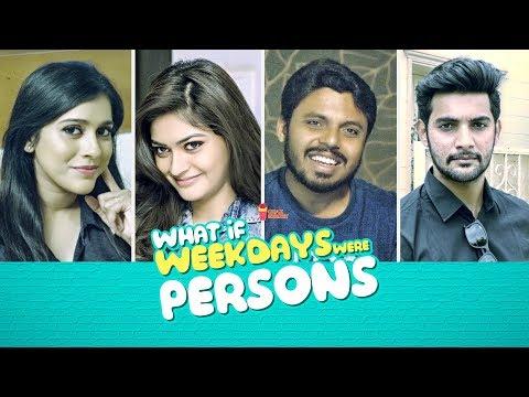 What If... Weekdays Were People | Ft. Aadi, Vaibhavi, Rashmi Gautam | Chai Bisket