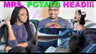 "Melanie Martinez ""Mrs. Potato Head"" Reaction!!!"