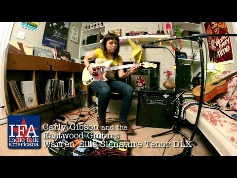 Carly Gibson and the Eastwood Guitars Warren Ellis Tenor