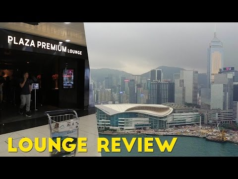 Plaza Premium Lounges at HKG Review! (Priority Pass)