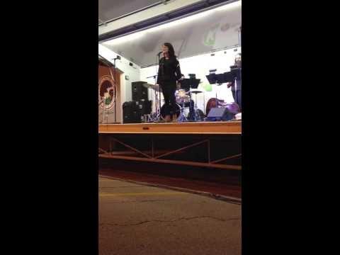 American Idiot / Defying Gravity Sung By Katie Karel at Waterfire at Kansas City Plaza