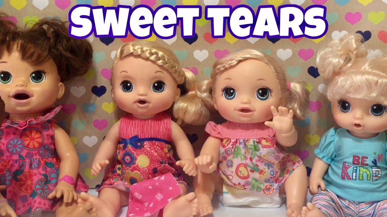 Baby Alive Sweet Tears 2017 More Details And Size