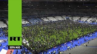 """Testigo: """"La gente bajó al campo de fútbol en pánico, hubo histeria"""""""