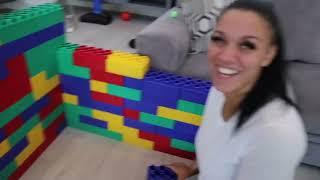 DJ & KYRIE BUILT A GIANT LEGO HOUSE | DJ's Clubhouse