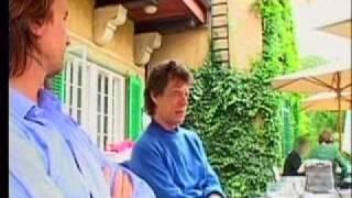 Bono (U2) with Mick Jagger - Recording JOY