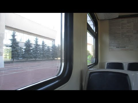 осень за окном живой звук в салоне электрички Railway Carriage Sound
