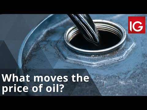 What moves the price of oil?
