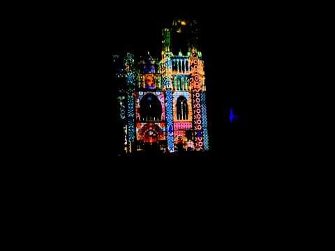 la luminaires et la cathedrale de saint etienne et Sens