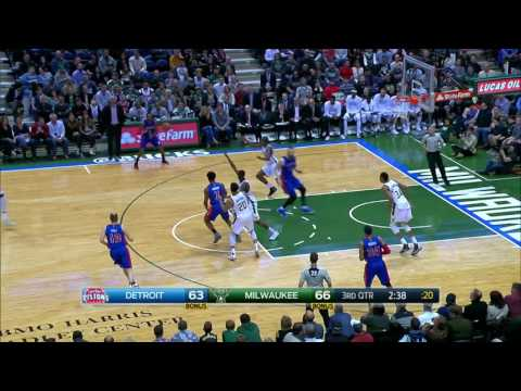 Detroit Pistons at Milwaukee Bucks - March 31, 2017
