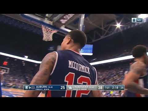 Auburn Men's Basketball vs Kentucky Highlights