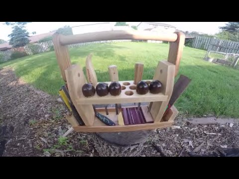 Woodcarving Tool Caddy