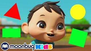 Learns Shapes Colors and Numbers | +More Nursery Rhymes & Kids Songs | Compilation | Little Baby Bum