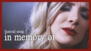 In Memory Of - Funeral song by Halocene