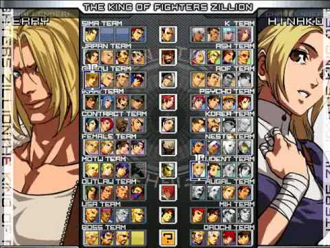 The King of Fighter -- Zillion (2010)MUGEN + DOWNLOAD