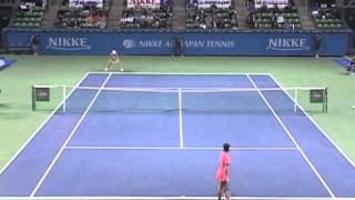 ニッケ全日本テニス選手権84th 3回戦 波形純理 VS 秋田史帆