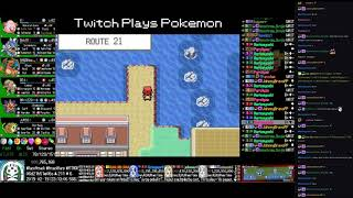 Twitch Plays Pokémon Anniversary Burning Red - Hour 166 to 167