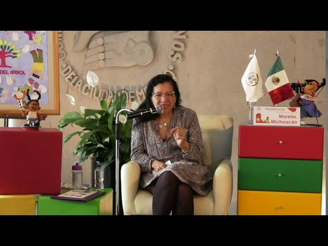 Discurso Nashieli Ramírez en Infancias Encerradas, estado de Michoacán
