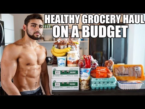 Healthy & Easy Grocery Haul on a Budget