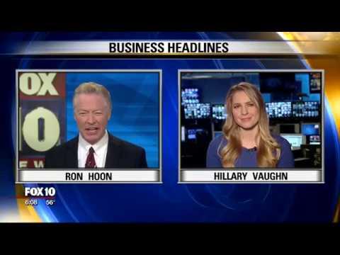 Business headlines with FOX News' Hillary Vaughn