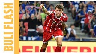 Thomas Müller mit Traumtor im Spiel Bayern München gegen Chelsea | Champions Cup Highlights