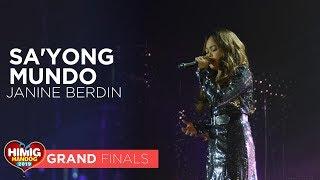 Sa'yong Mundo - Janine Berdin | Himig Handog 2019 Grand Finals