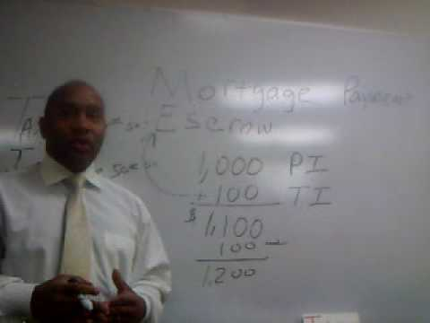Mortgage Escrow Account Shortgage By Tyron Coleman Mortgage Instructor Colorado