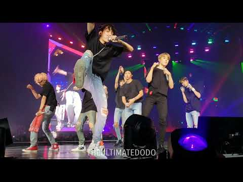 180906 Anpanman @ BTS 방탄소년단 Love Yourself Tour in LA Fancam 직캠