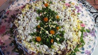 Безумно вкусный печеночный салат