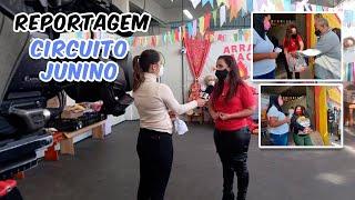 CIRCUITO JUNINO   Campanha arrecada alimentos e agasalhos para instituições