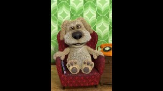 Говорящая,прикольная и смешная собака Бен поет понты