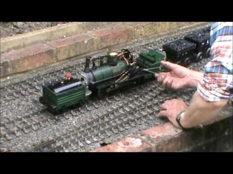 A Gauge '3' Live Steam Model Of The 1845 Built Stockton & Darlington Railway Locomotive 'DERWENT'