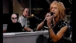 IGGY POP - Cold Metal (Live+ Interview on Letterman 1988) HD