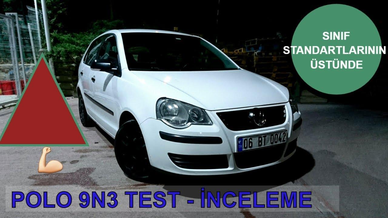 Volkswagen polo 9n3 1 4 16v test s r lg n atmosferik redline t rkiye youtube