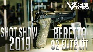 Shot Show 2019 - Beretta 92 Elite LTT