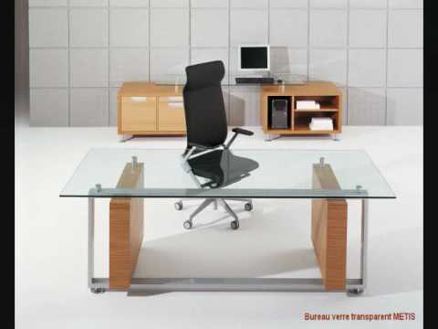 La collection de tables de bureau en verre llt ofx executive