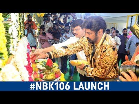 #NBK106 Movie Launch | Nandamuri Balakrishna | Boyapati Srinu | Thaman S | Dwaraka Creations
