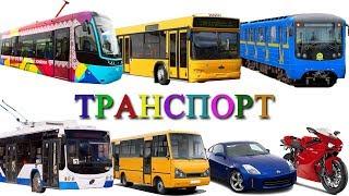 Міський транспорт і Залізниця розвиваюче відео. Іграшки поїзда для дітей і вагон Метро
