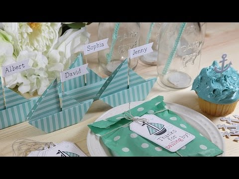 How to diy a nautical party