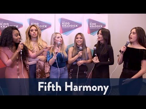 Backstage With Fifth Harmony At Jingle Ball 2016! | KiddNation