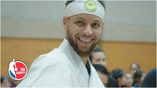 Steph Curry gets a hero's welcome in Japan | 2019 NBA Offseason