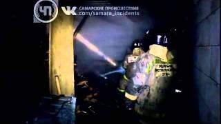 На ул. Путиловская сгорела частная баня(, 2013-11-20T17:59:57.000Z)
